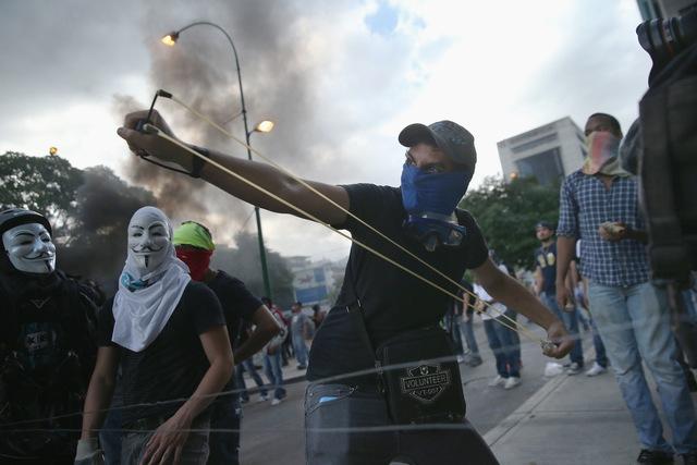 Làn sóng bạo lực đang gia tăng ở Caracas