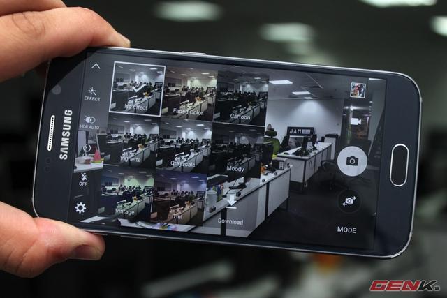 Giao diện camera dễ dùng, trực quan hơn và chất lượng ảnh chụp cũng có thể nói là rất tốt.