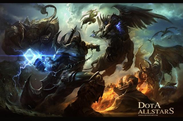 """""""Huyền thoại"""" DotA mở ra thể loại game mới với lối chơi độc đáo, thu hút"""