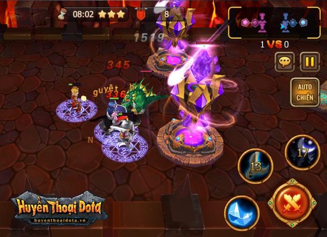 Huyền Thoại DotA, game MOBA đầu tiên trên mobile tại Việt Nam