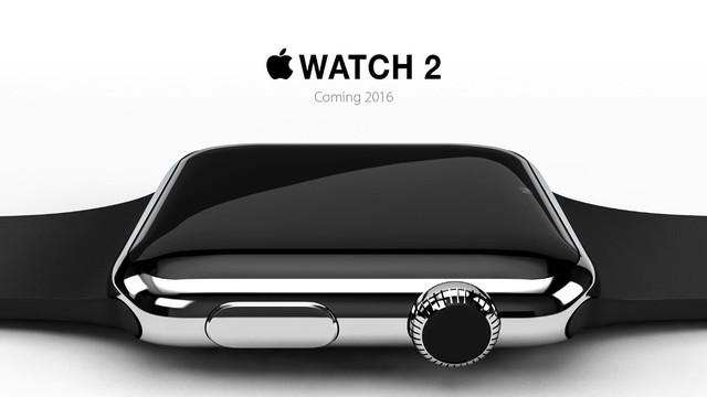 Apple Watch 2 sẽ được ra mắt trong năm 2016.
