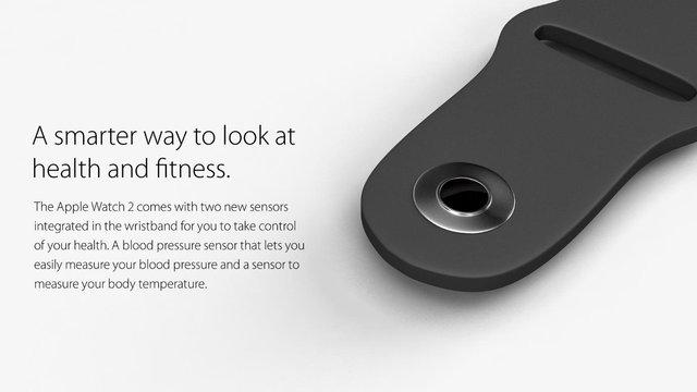 Các cảm biến mới được tích hợp ngay vào vòng đeo của thiết bị.