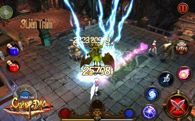 Loạn Thế Cuồng Đao: Game hành động nhập vai ưu việt chiến đấu