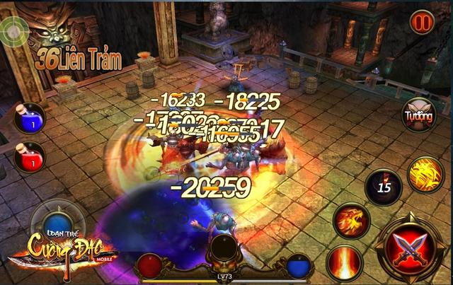 Tựa game ARPG sở hữu cơ chế điều khiển non-target cao cấp