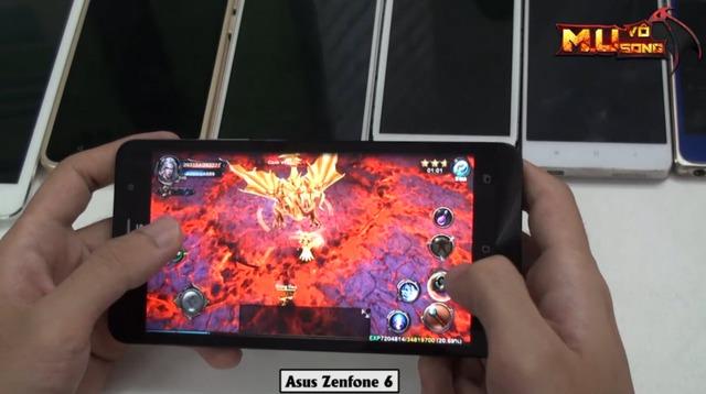 Zenfone - dòng máy sử dụng chip Intel Atom vốn kén game liệu có chơi được?