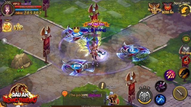 Hệ thống skill Dấu Ấn Rồng Thiêng khá đẹp mắt và phong phú