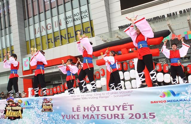 Những tiết mục truyền thống Nhật Bản được biểu diễn bởi chính các bản trẻ Việt