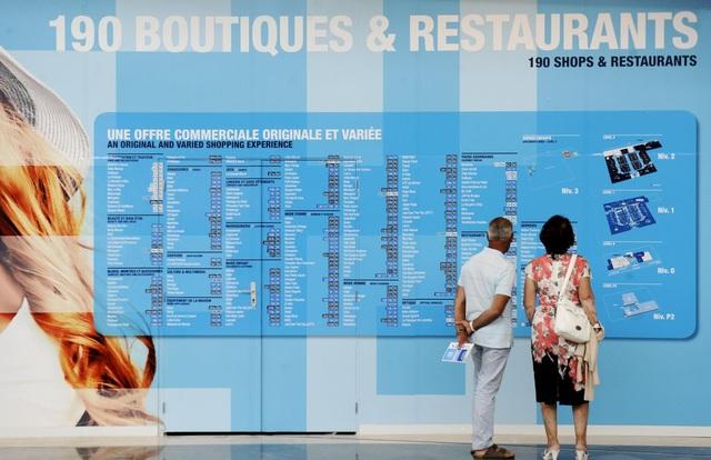 Bản đồ trong trung tâm mua sắm luôn là nỗi ám ảnh với người mua hàng