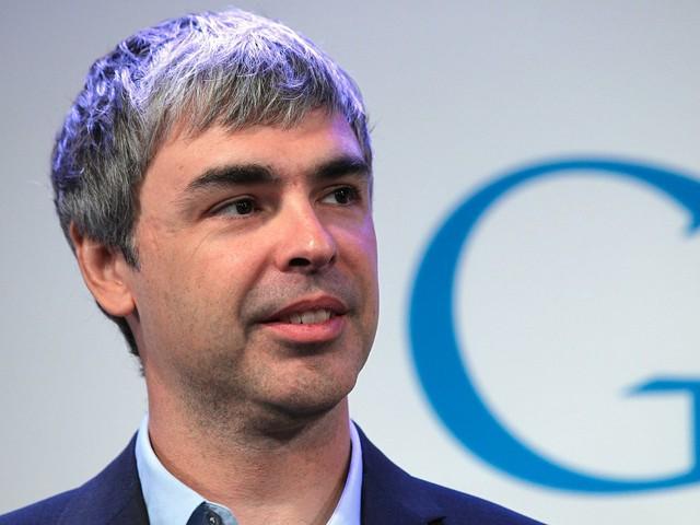 Cựu CEO Larry Page luôn rất kỳ vọng vào sự thành công của dự án Replicant.