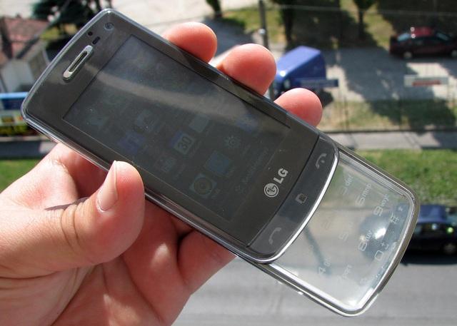 Siêu phẩm LG GD900 Crystal bàn phím trong suốt