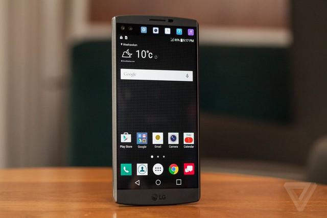 Ảnh cận cảnh mẫu LG V10