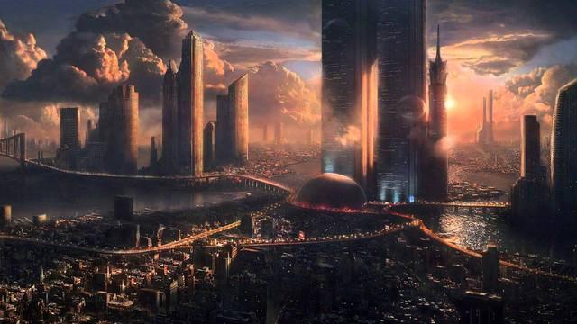 Những thành phố vũ trụ như thế này vẫn đang là giâc mới với loài người.