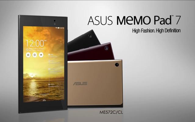 Asus chen chân vào thị trường Tablet sau khi là nhà sản xuất Google Nexus 7.