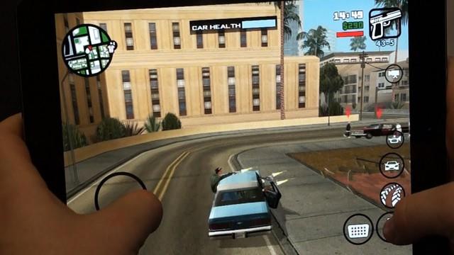 GTA: San Andreas dễ dàng chơi trên di động.