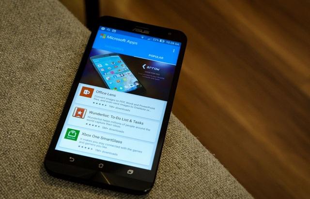 Microsoft Apps - kho ứng dụng của Microsoft trên Android
