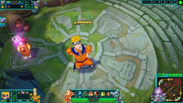 Naruto xuất hiện trong Liên Minh Huyền Thoại.
