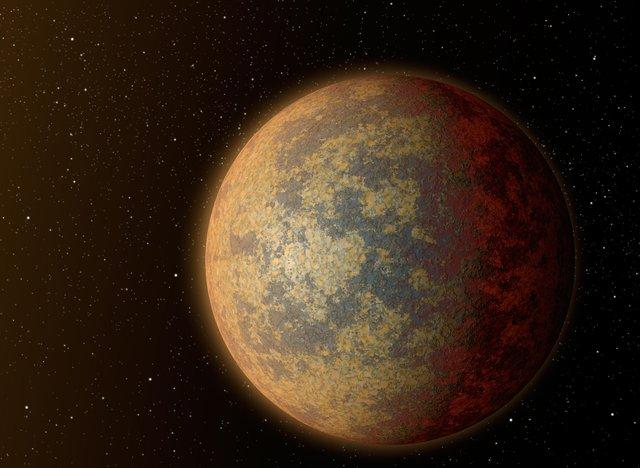 Mô phỏng đồ họa hành tinh HD 219134b