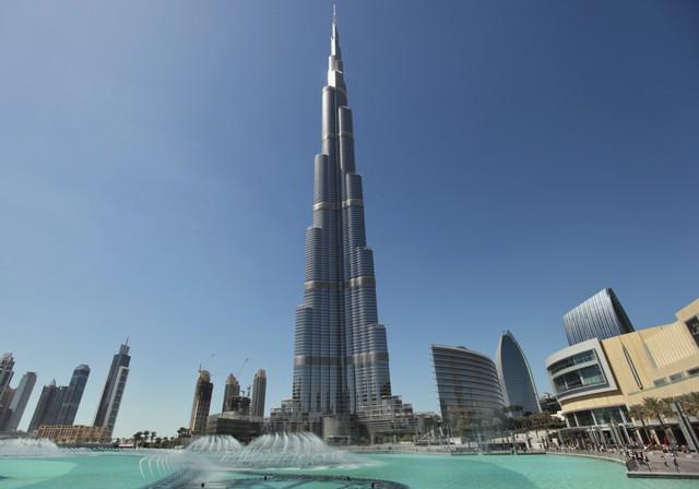 Cao ốc Burj Khalifa, Dubai