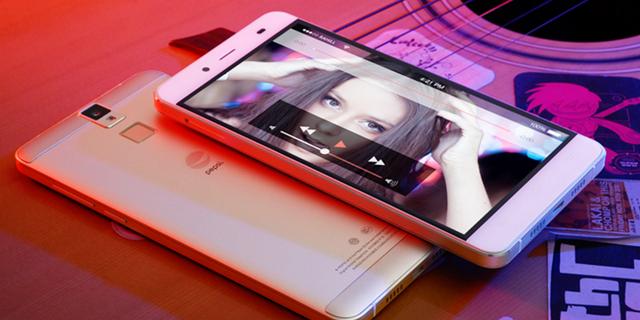 Chân dung P1s, smartphone đầu tiên mang thương hiệu Pepsi.