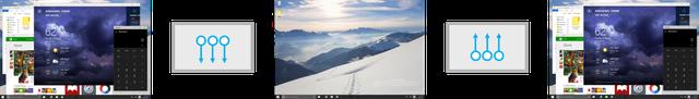 Hiển thị màn hình nền desktop