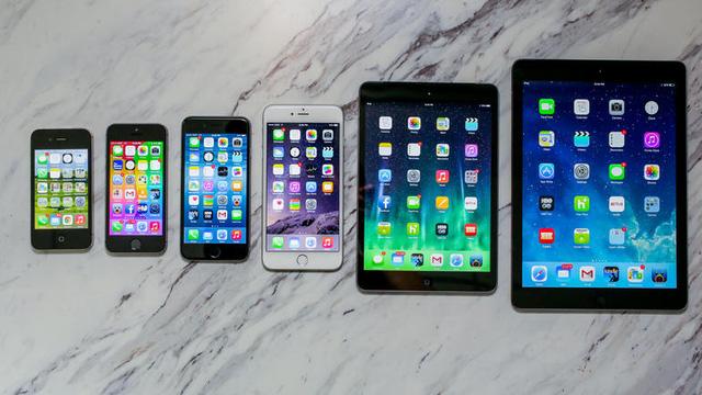 Smartphone phình to khiến Tablet ngày một kém hấp dẫn.