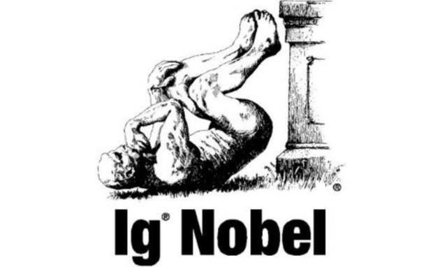 Biểu tượng không kém phần hài hước của Ig Nobel.