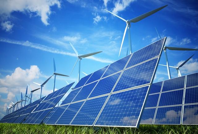 Năng lượng từ sức gió và mặt trời sẽ là tương lai của cuộc sống hiện đại.