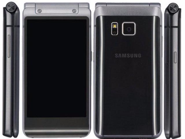 Phần lưng mang phong cách thiết kế quen thuộc trên các sản phẩm cao cấp của Samsung.