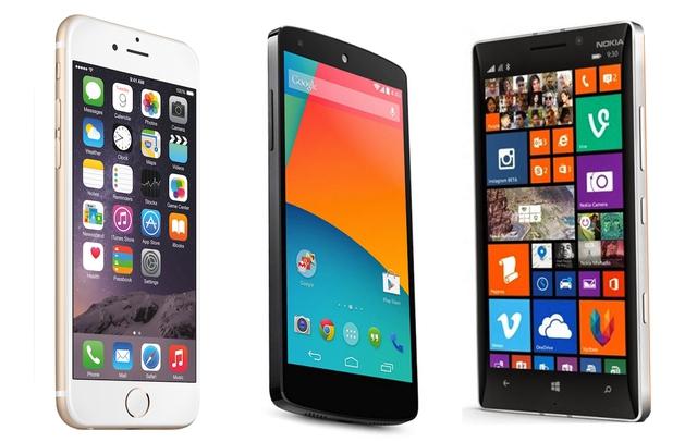 Ba chiếc smartphone tiêu biểu cho độ bảo mật đáng tin cậy.