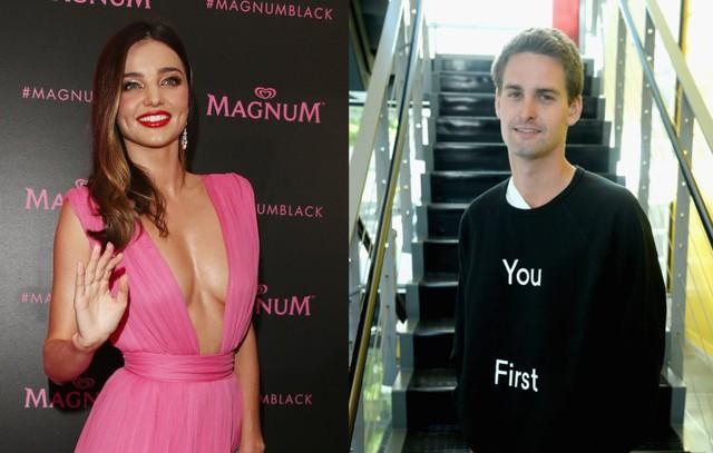 Mirranda Kerr và Evan Spiegel được phát hiện đang hẹn hò với nhau.
