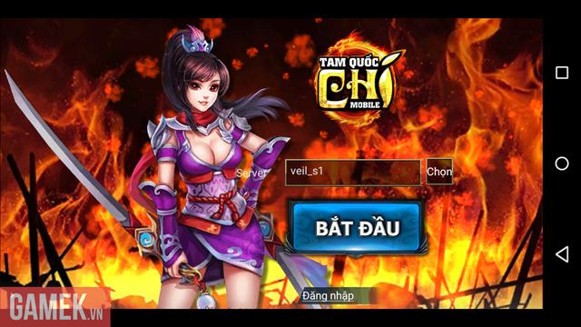 Chơi thử Tam Quốc Chí Mobile phiên bản Việt hóa trước ngày ra mắt