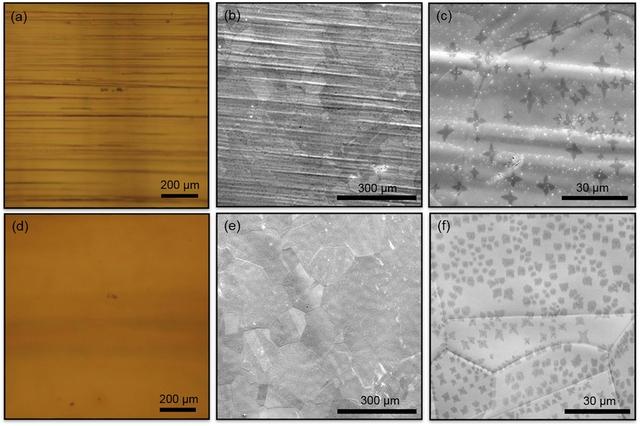 Hình ảnh vật liệu graphene được chế tạo trên đế đồng.