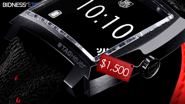 Smartwatch của TAG Heuer.