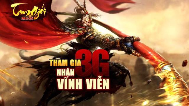 Game mới Tam Giới Mobi mở cửa ngày 25/3 tại Việt Nam