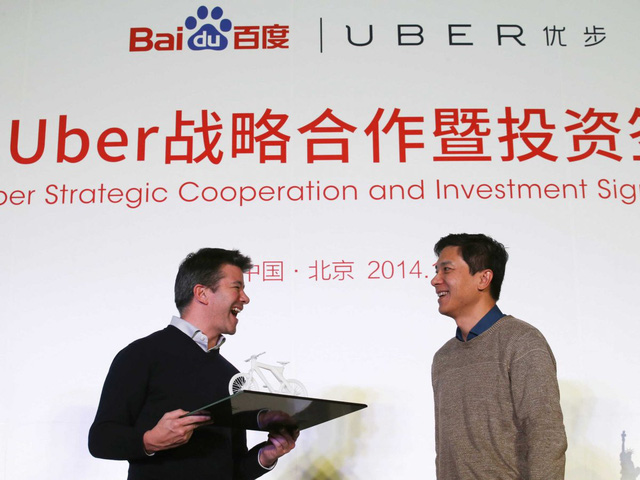 Hợp tác giữa Uber và Baidu tại Trung Quốc