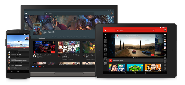 Youtube Gaming đang tiến đánh thị trường di động.