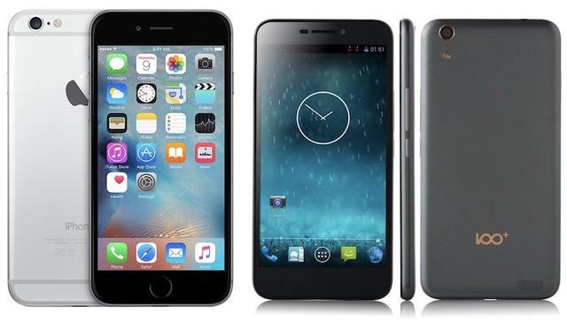 Chiếc smartphone mà cho là iPhone 6 đã ăn cắp thiết kế.