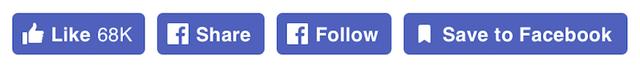 Các biểu tượng trên Facebook vừa được làm mới, tất cả đều được đóng khung vào ô màu xanh