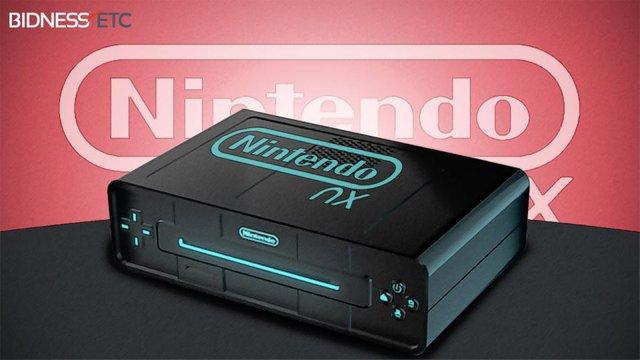 Hình ảnh về máy chơi game Nintendo NX