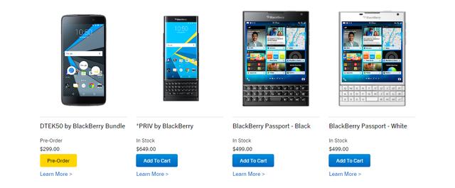 Chiếc DTEK50 trông chẳng hề giống loạt điện BlackBerry trước đây