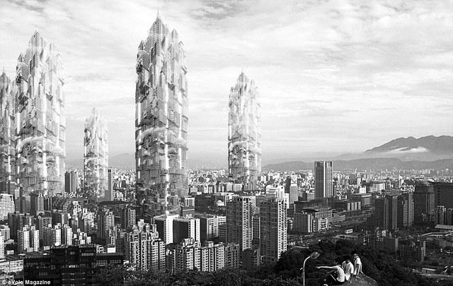 Tòa tháp The Taiwan Tower.