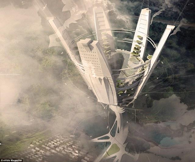 Tòa nhà The Cloud Craft.