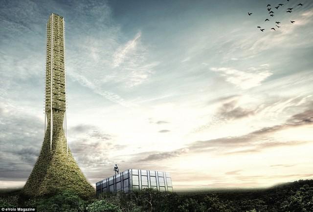 Toà nhà cao ốc Trở về với thiên nhiên (Return to Nature).
