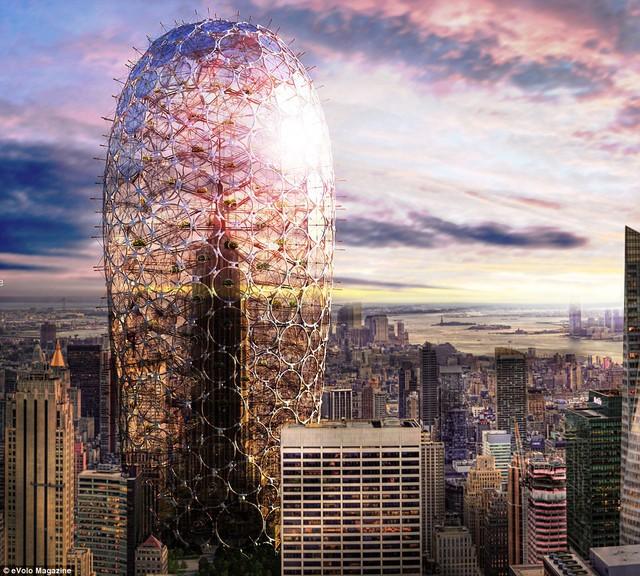 Dự án Sustainable Skyscraper Enclosure.