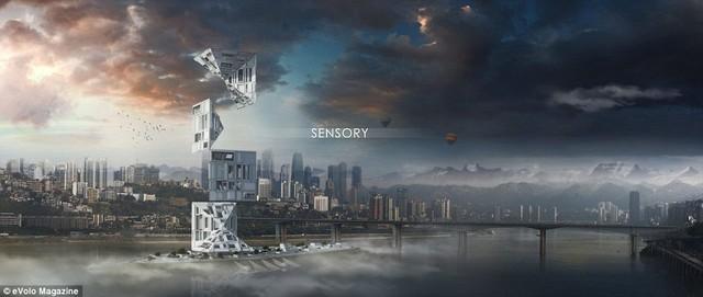 Tòa nhà The Sensory.