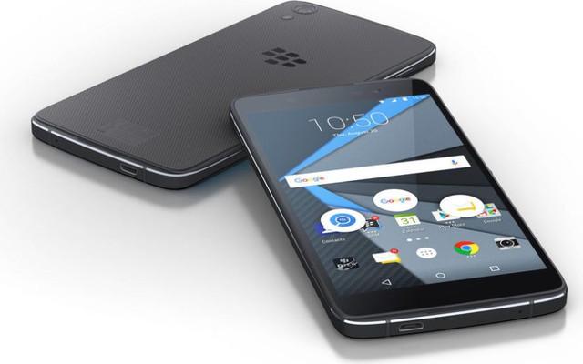 BlackBerry DTEK50 sở hữu ngoại hình giống hệt chiếc Idol 4 do Alcatel sản xuất