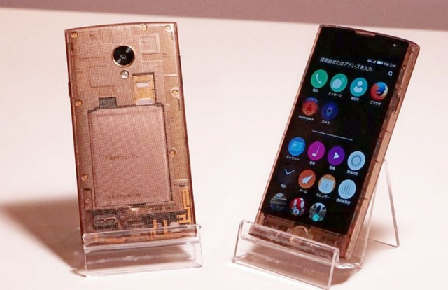 Smartphone chạy Firefox OS do LG sản xuất.