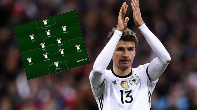 Coong cụ Match Insights có tác dụng rất lớn trong việc trợ giúp các cầu thủ Đức. Ảnh: Eurosport.