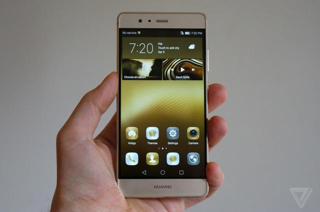 Huawei P9 sử dụng tấm màn LCD kích thước 5,2 inch độ phân giải Full HD.