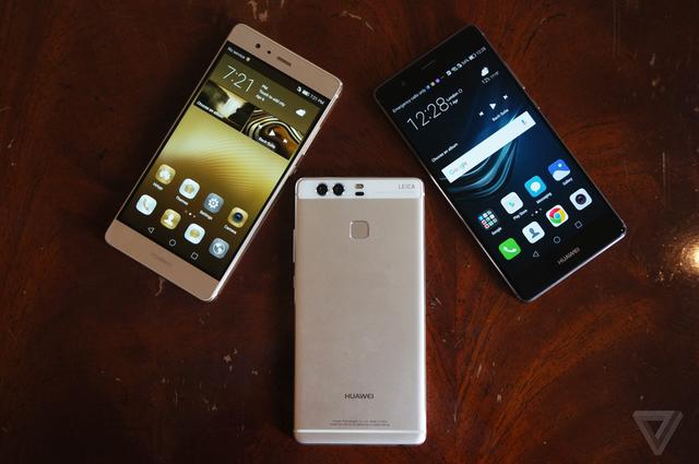Ở một góc độ nào đó, Huawei P9 trông rất giống Nexus 6P.